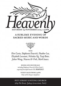 5Heavenly Concert Flyer - 500px Wide