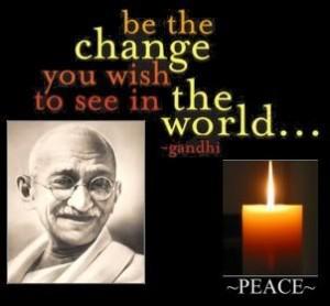 Gandhi-peace